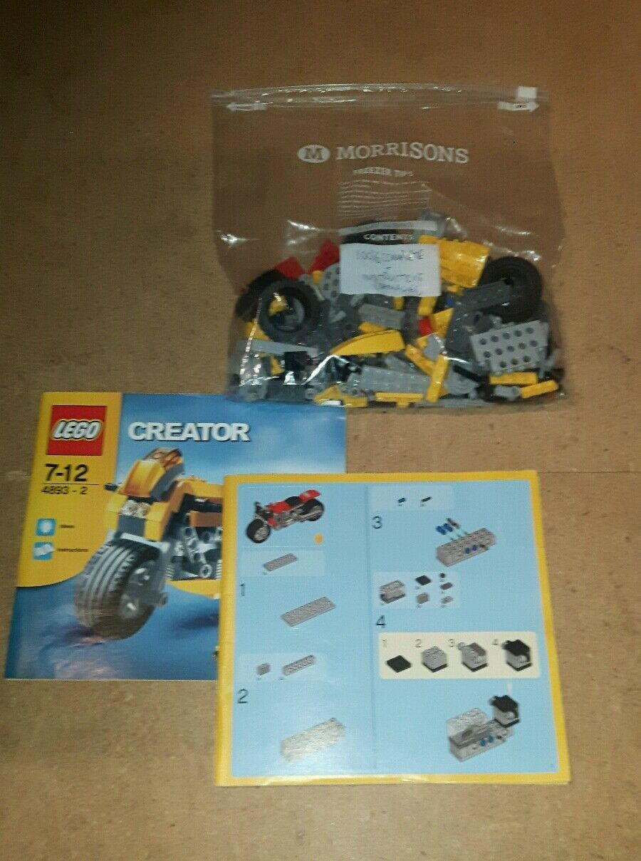 Lego 4893 Creator Revvin Racers - 100% Complete   RARE SET