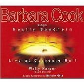 Barbara Cook Sings Mostly Sondheim Live at Carnegie Hall 2 CD MALCOLM GETS 2001