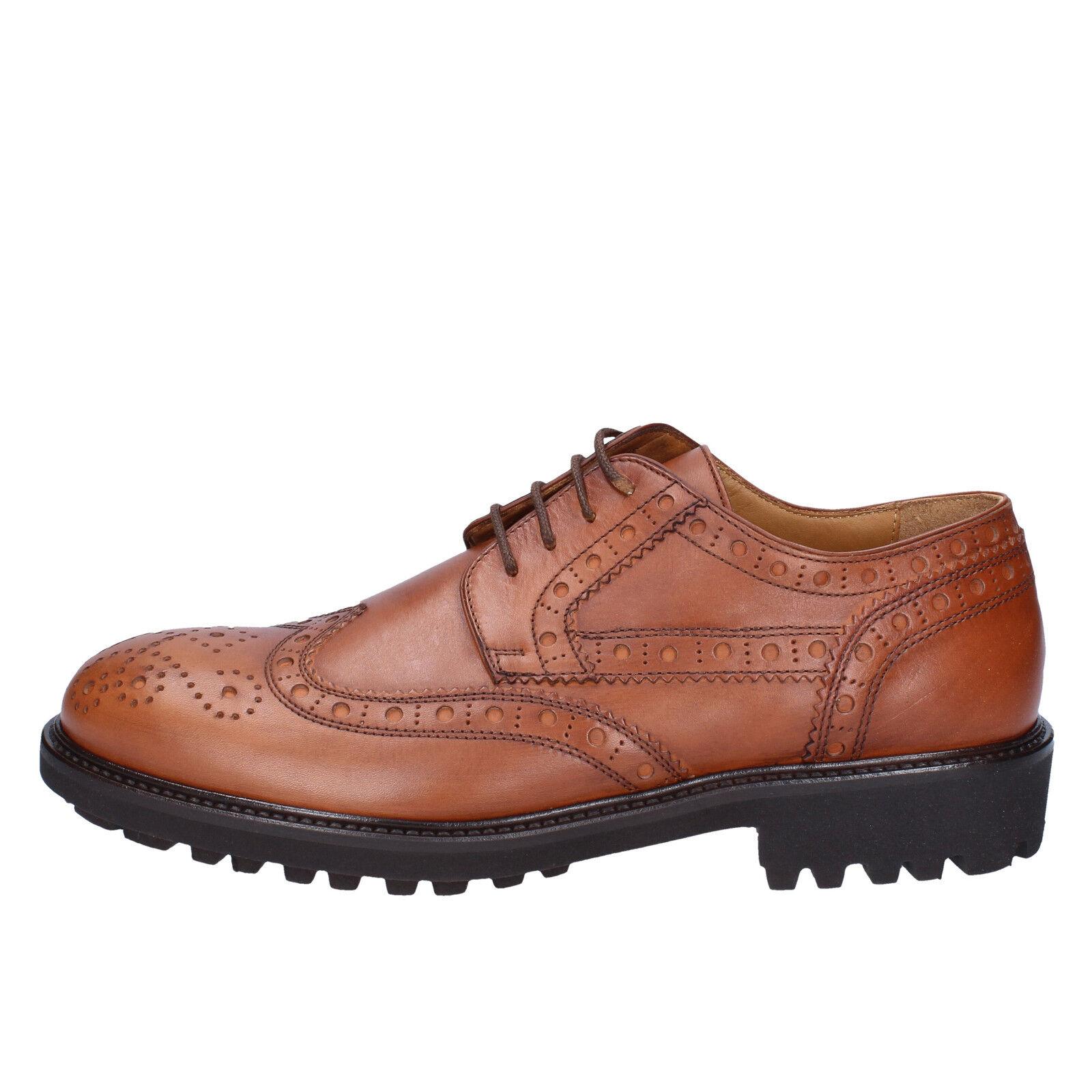 scarpe uomo K852 & SON BX608-42 42 classiche marrone pelle BX608-42 SON c98a63
