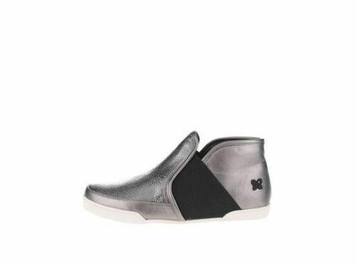 New Butterfly Twists Madison  Pewter argento donna High Top  Trainers | Negozio