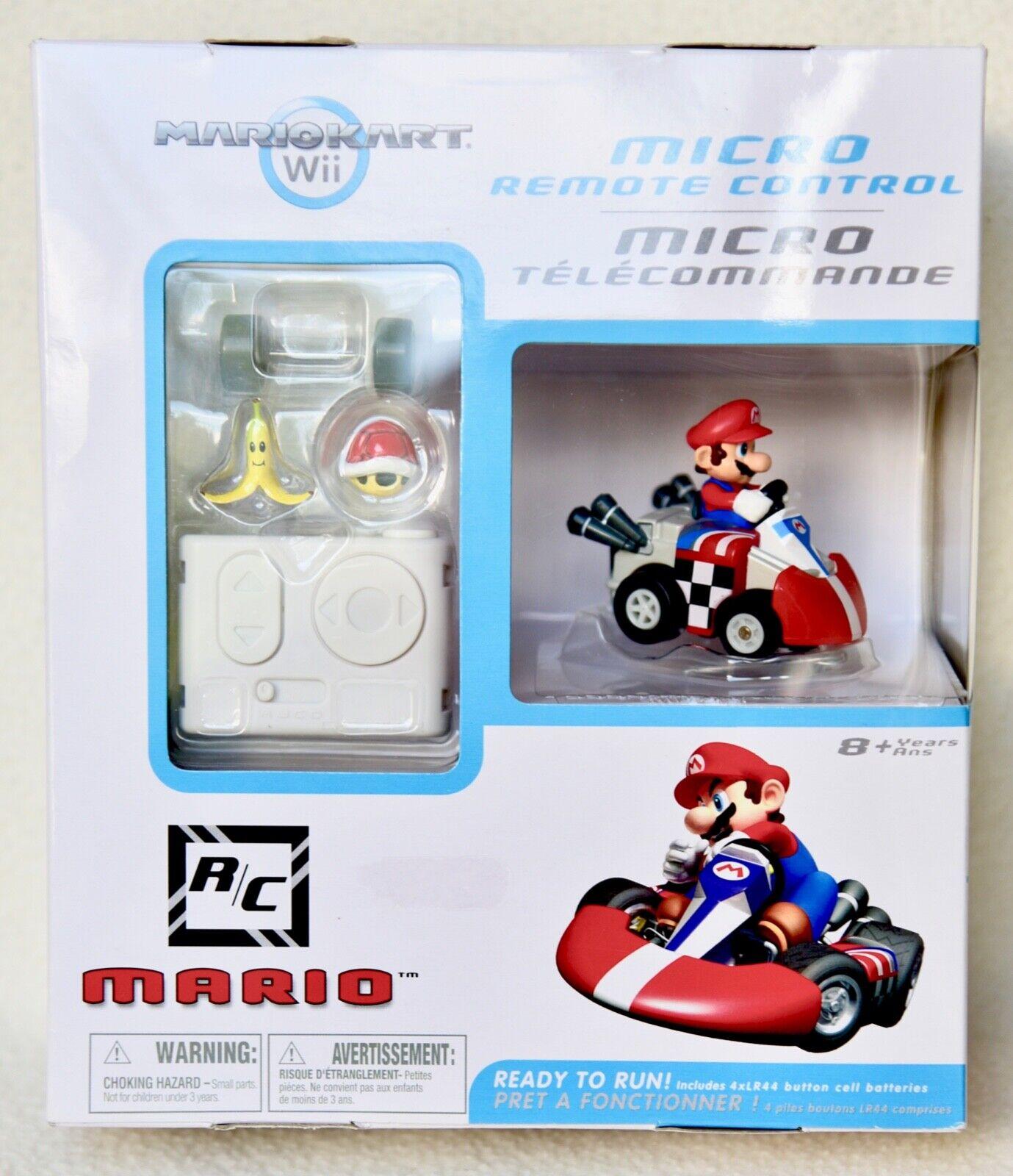 Mario Kart Wii  Mario  Micro Remote Control RC