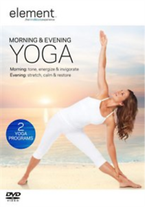 Element-Morning-amp-Evening-Yoga-DVD-NEW