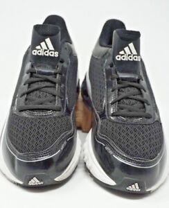 Adidas Mens Falcon Trainer Shoes Black White G49034 Size 7M  E9991 ... 38cd6f024