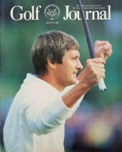 Golf Journal Magazine August 1985 Vtg - Andy North - No Label - EX