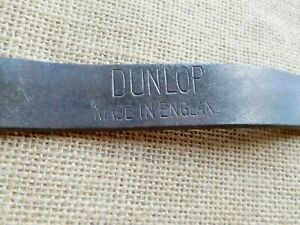 Dunlop-tyre-lever-classic-vintage-motorcycle-car-tool-wrench-kit-repair-3016