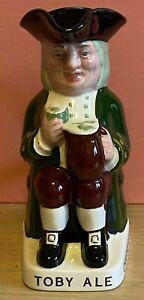 Toby-Ale-Jug-Wade-Regicor-Charrington-Hand-Painted-Pottery-Ceramic-Rare-Vintage