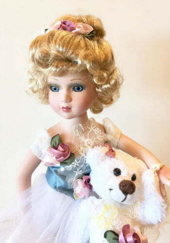 Victorian Porcelain Dolls-Limited Edition Collectible Doll Princess New