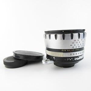 Fuer-Exa-Exakta-Meyer-Optik-Goerlitz-Domiron-2-50-Q1-Objektiv-lens-caps
