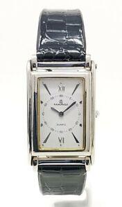 Orologio Margi 8540 elegante cartier tank style watch elegant men's clock rare