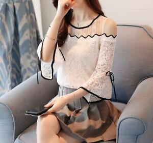 Mujer-ropa-camisa-blusa-2019-Moda-Blusas-elegante-Tops-Casual-Blusas-Nuevo