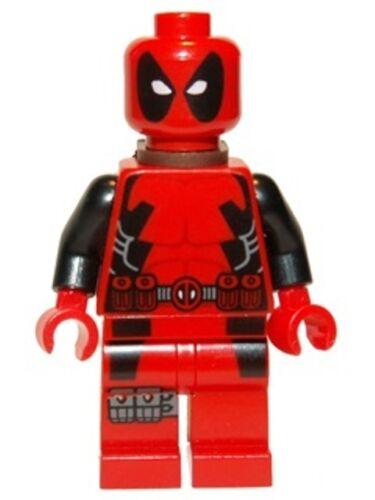 LEGO SUPER HEROES MINIFIGURE DEADPOOL ORIGINAL LEGO* *NUEVO // NEW 6866