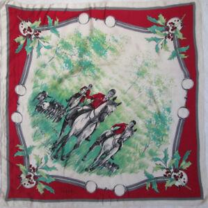 Superbe Foulard GUCCI soie TBEG vintage Scarf 92 x 92 cm   eBay 96acb173686