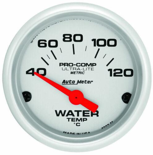 AUTOMETER 2in U//L Water Temp Gauge Metric 40-120C 4337-M