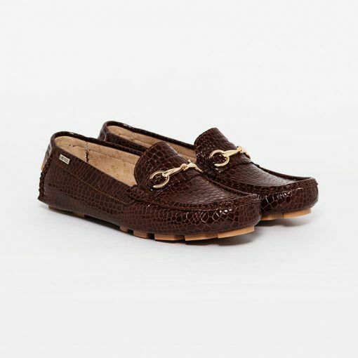 Moccasins Formal Patent Leather Women Shoes HENDZ