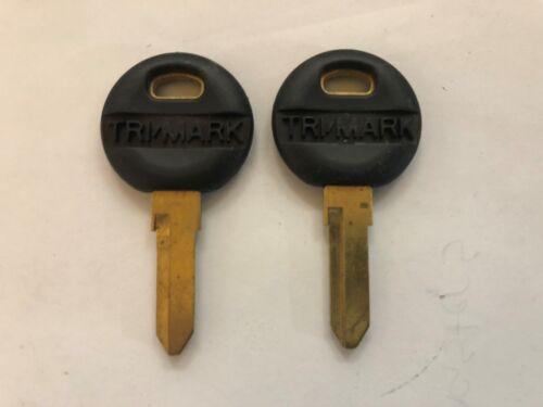 2 Trimark RV Lock Keys Code Cut TA156 thru TA183 Travel Trailer Motorhome Key