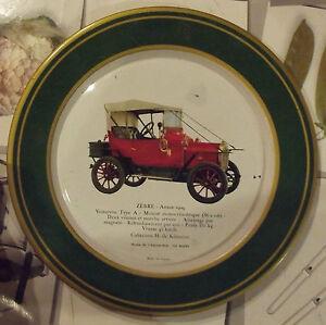 Ancienne-assiette-publicitaire-SHELL-AUTOMOBILE-ZEBRE-1909-moteur-monocylindriqu