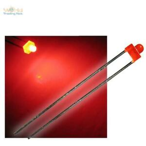 50-LED-1-8mm-diffus-rot-SET-mit-Widerstaenden-Typ-034-WTN-18-200-034-diffuse-rote-LEDs