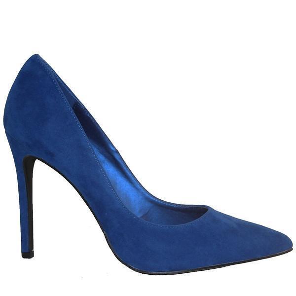 Penny Loves Kenny Opus - - - Blau Suede Stiletto Pump 186b78
