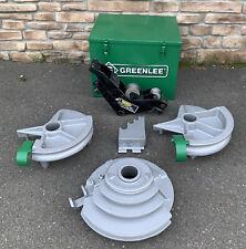 Greenlee 555 Hydraulic Pipe Bender 12 2 Emt Shoes Amp Rollers Nice Shape 2