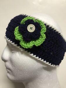 04e9dc481ef2f7 Image is loading NEW-HandMade-Crochet-Knitted-Hat-HeadBand-Adult-teen-