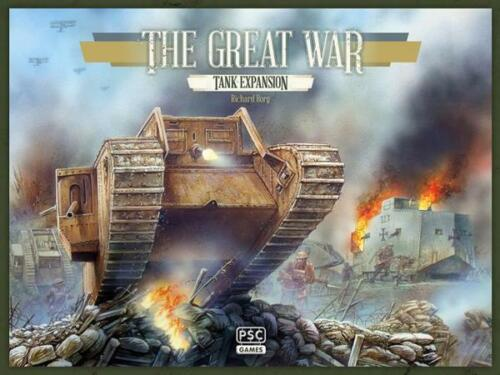 Plastic Soldier The Great War: Tank Expansion Boardgame TGW020 1:72