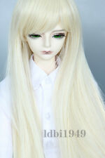 "6-7"" 1/6 BJD Wig Dal SD MSD DOD DD Dollfie Doll Wig Long Blonde Hair 61"