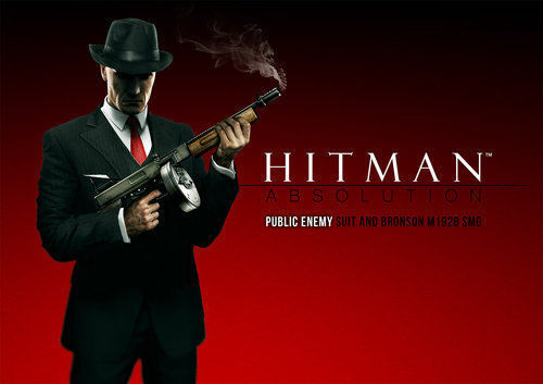 Hitman Absolution Public Enemy Suit Bronson Smg Dlc Pack Playstation 3 Ps3 Ebay
