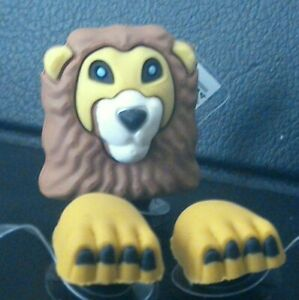3D-LION-Shoe-Charm-For-Crocs-Jibbitz-Croc-3-Piece