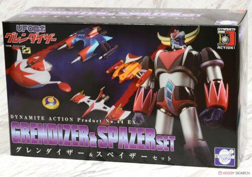Dynamite Action Grendizer /& Spazers Set EVOLUTION TOY UFO ROBOT GOLDORAK