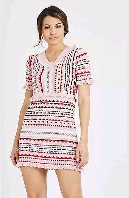 Women Ladies Summer Abstract Striped Metalic Frill Sleeveless Bodycon Mini Dress