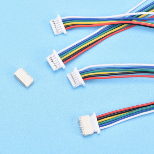 SH MO0 UL 5 PCS Mini Micro ZH 1mm 2~6-Pin JST Connector with Wire