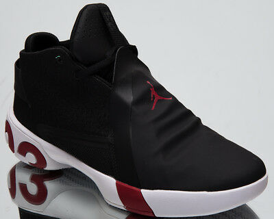b34969453190b Details about Jordan Ultra Fly 3 Men's Basketball Shoes Black White Red New  Mid Top AR0044-005