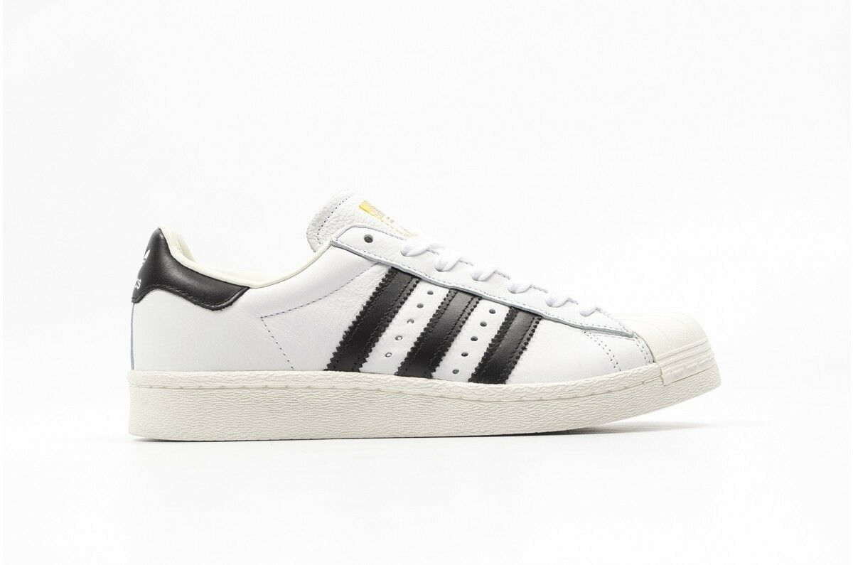 SALE ADIDAS ORIGINALS SUPERSTAR BOOST BB0188 WHITE BLACK SZ 5.5-13 NEW DS ULTRA