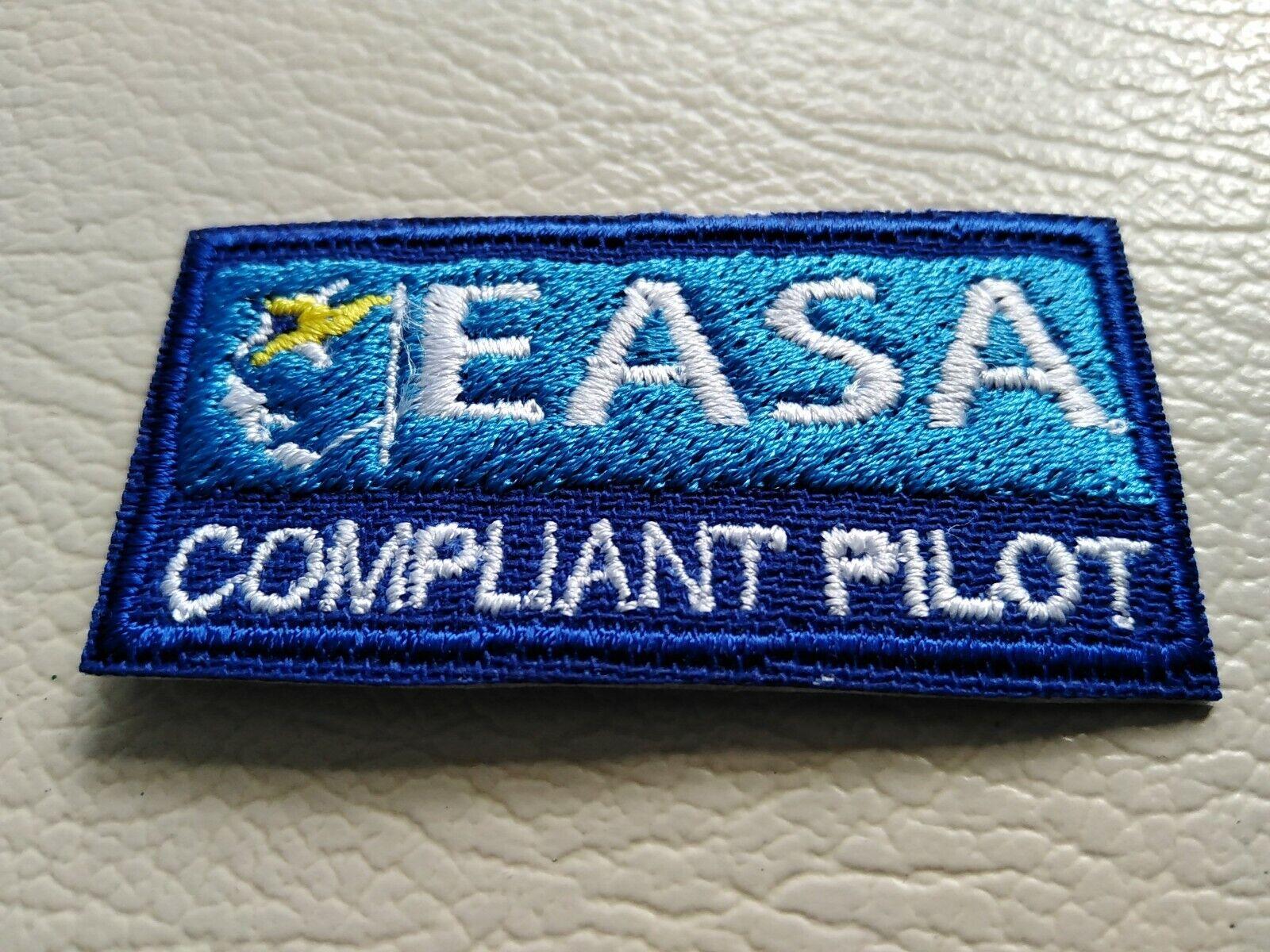 EASA Compliant Drone / UAV Pilot Iron On Patch A2CofC