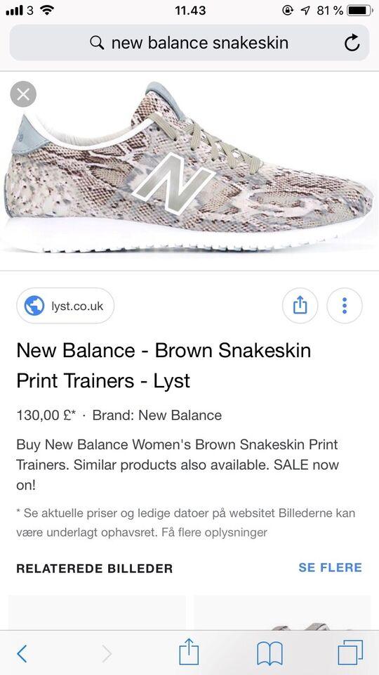 8601cf7ef562 Sneakers, str. 41, New balance – dba.dk – Køb og Salg af Nyt og Brugt