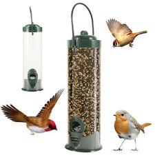 Outdoor Wild Bird Feeder Squirrel Proof Garden Seed Food Patio Tree Hanging USA