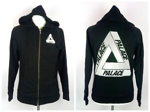 ab83bc91643b 100% Authentic PALACE Skateboards Zip Up Tri-Line Hoodie Size M (Fit ...