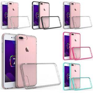 For-Apple-iPhone-8-Plus-7-Plus-Bumper-TPU-Slim-Hard-Back-Protective-Case-Cover
