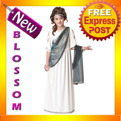 CK100 Roman Princess Child Girls Cleopatra Egyptian Goddess Halloween Costume