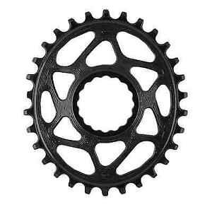Absolute Black Oval 96 BCD XT N//W Chainring 96mm 30t 4b Bk Xt-m8000//mt700