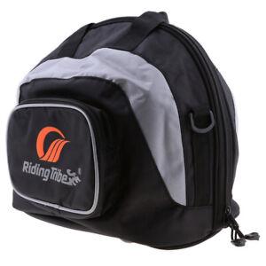 Motorcycle Motorbike Scooter Waterproof Helmet Carry Bag Storage Capacity Pouch