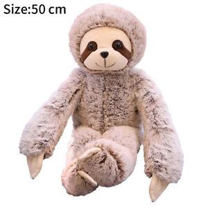 Plush-Sloth-Soft-Toy-Teddy-Furry-Animal-Monkey-Doll-Pillow-Soft-Stuffed-Toy-KN