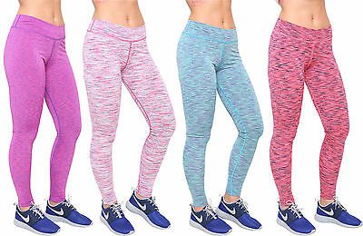 Schnelle Lieferung New Women High Waist Sports Gym Yoga Running Fitness Leggings Compression Pants