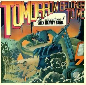 CD-Album-Sensational-Alex-Harvey-Band-Tomorrow-Belongs-LP-Style-Card-Case-NEW