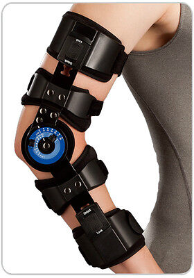 Breg Elbow Arm ROM Hinged Brace Support Sprains Strains