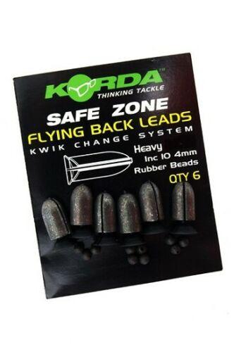 MEDIUM Korda SAFE ZONE Flying Back Leads Carp Coarse Fishing