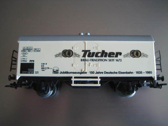 Marklin H0 DB 441585012 Tucher Brau 150 Jahre Deutsche Eisenbahn Kuhlwagen LN