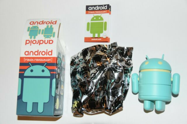 ANDROID ROBOT REVOLUTION SERIES MINI FIGURE ANDROID.COM ANDREW BELL