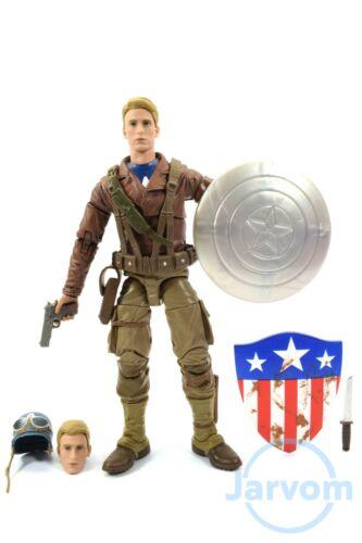 "Marvel Legends 6/"" pouces 80 Peggy Carter 2-Pack Captain America Loose complet"