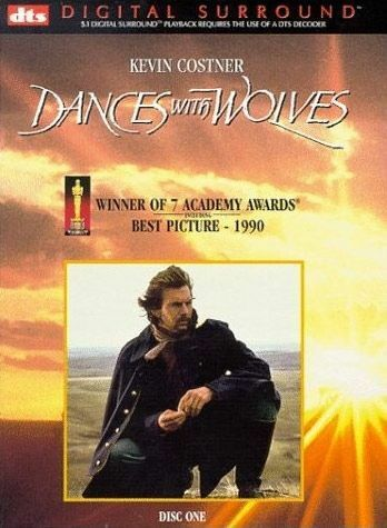 Dances With Wolves (DVD, 2001)